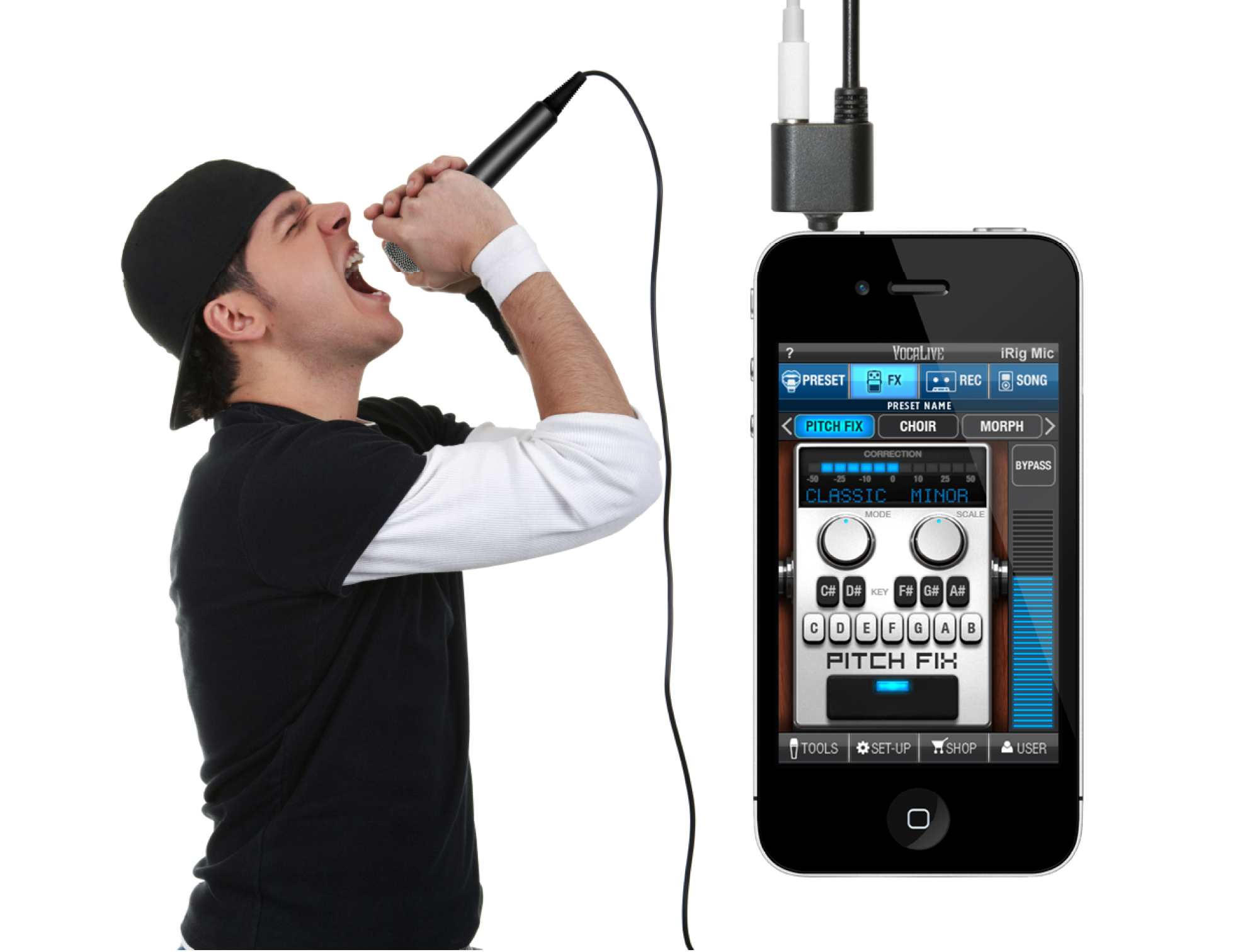 irig microphone for iphone